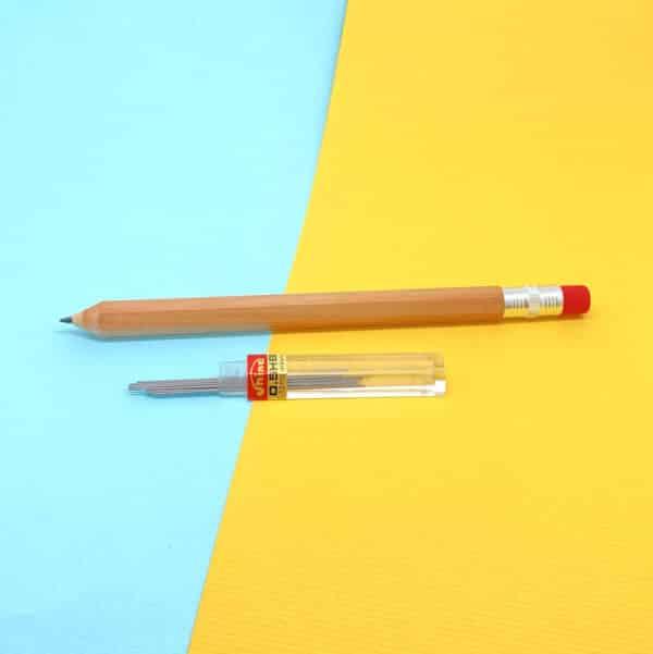 木頭鉛筆學習型